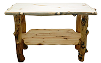 Aspen Grizzly Sofa Table
