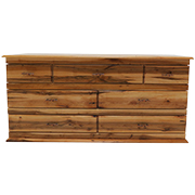 Mountain Maple 7 Drawer Dresser
