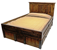 Wyoming Collection Water Bed
